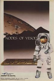 Advert for Nodes of Yesod on the Commodore 64.