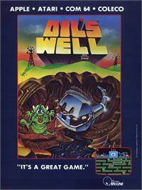 Advert for Oil's Well on the MSX 2.