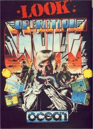 Advert for Operation Wolf on the Commodore Amiga.