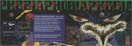 Advert for Phobia on the Commodore 64.