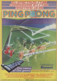Advert for Ping Pong on the MSX.