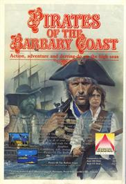 Advert for Pirates of the Barbary Coast on the Atari 8-bit.
