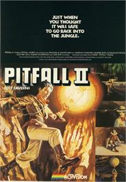 Advert for Pitfall! on the Atari 2600.