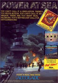 Advert for Power at Sea on the Commodore 64.