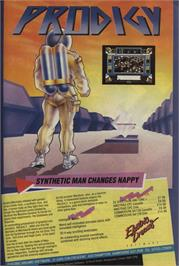 Advert for Prodigy on the Commodore 64.