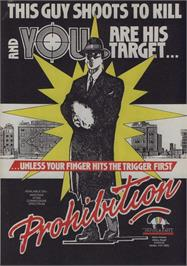 Advert for Prohibition on the Commodore 64.