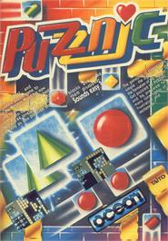 Advert for Puzznic on the Commodore 64.