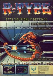Advert for R-Type on the NEC TurboGrafx-16.