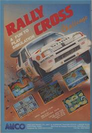 Advert for Rally Cross Challenge on the Commodore Amiga.