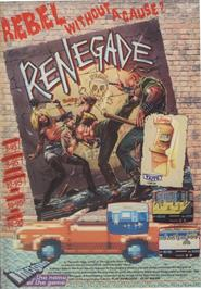 Advert for Renegade on the Apple II.