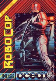Advert for RoboCop on the Commodore 64.