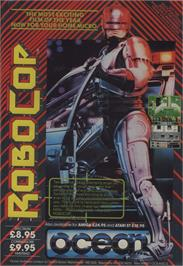 Advert for RoboCop 2 on the Commodore 64.