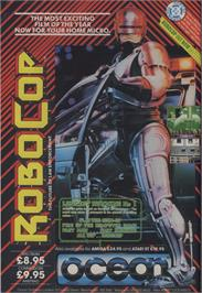 Advert for RoboCop 3 on the Commodore 64.