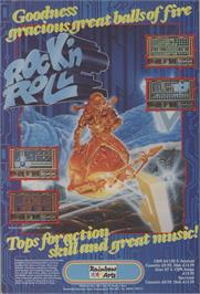 Advert for Rock 'n Roll on the Commodore Amiga.