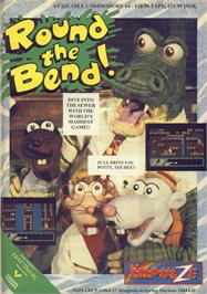 Advert for Round the Bend! on the Commodore 64.