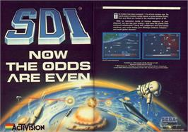 Advert for S.D.I. on the Commodore 64.