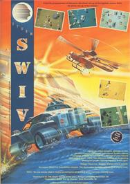 Advert for S.W.I.V. on the Commodore 64.