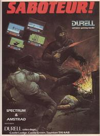 Advert for Saboteur on the Commodore 64.