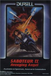 Advert for Saboteur II on the Commodore 64.