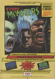 Advert for Scary Monsters on the Commodore 64.