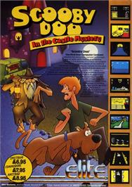 Advert for Scooby Doo on the Amstrad CPC.