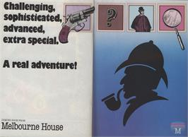 Advert for Sherlock: The Riddle of the Crown Jewels on the Commodore Amiga.