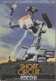 Advert for Short Circuit on the Amstrad CPC.