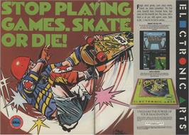 Advert for Skate or Die on the Amstrad CPC.