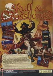 Advert for Skull & Crossbones on the Commodore 64.