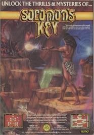 Advert for Solomon's Key on the Commodore 64.