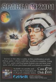 Advert for Space Ace on the Commodore 64.