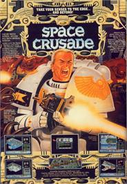 Advert for Space Crusade on the Commodore 64.