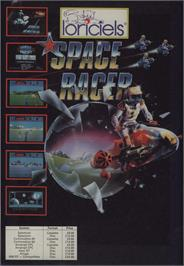 Advert for Space Racer on the Commodore 64.