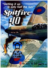 Advert for Spitfire '40 on the Amstrad CPC.