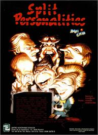 Advert for Split Personalities on the Amstrad CPC.