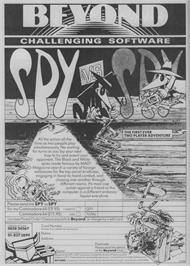 Advert for Spy vs Spy on the Sega Master System.
