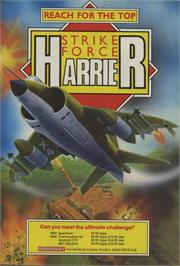 Advert for Strike Force Harrier on the Commodore Amiga.