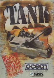 Advert for Tank on the Amstrad CPC.