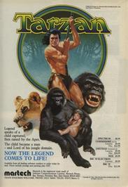 Advert for Tarzan on the Commodore 64.