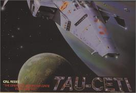 Advert for Tau Ceti on the Commodore 64.