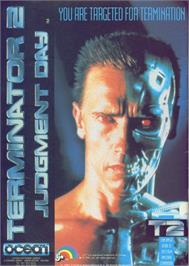 Advert for Terminator 2: Judgment Day on the Commodore 64.