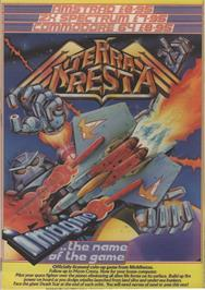 Advert for Terra Cresta on the Commodore 64.