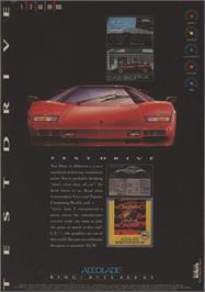 Advert for Test Drive on the Commodore 64.