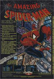 Advert for The Amazing Spider-Man on the Microsoft Xbox 360.