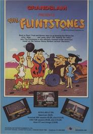 Advert for The Flintstones on the Commodore 64.