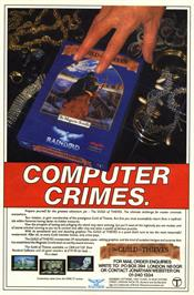 Advert for The Guild of Thieves on the Sinclair ZX Spectrum.