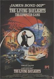 Advert for The Living Daylights on the Commodore 64.
