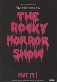 Advert for The Rocky Horror Show on the Commodore 64.