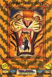 Advert for The Way of the Tiger on the Commodore 64.