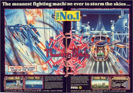 Advert for ThunderBlade on the NEC PC Engine.